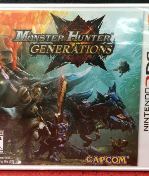 3DS Monster Hunter Generation game