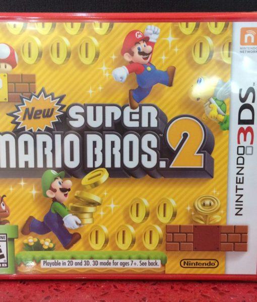 3DS New Super Mario Bros 2 game