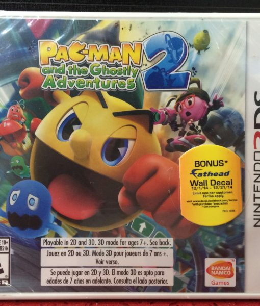 3DS Pacman Ghostly Adventures 2 game