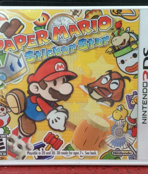 3DS Paper Mario Stiker Star game