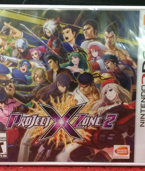 3DS Project X Zone 2 game