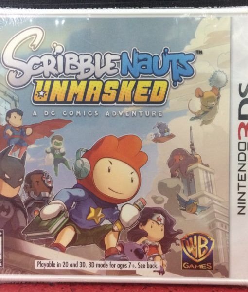 3DS ScribbleNauts Unmasked game