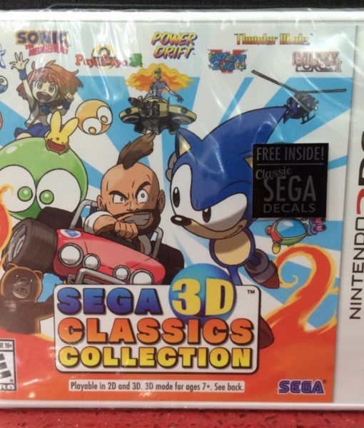 3DS Sega 3D Classics Collection game