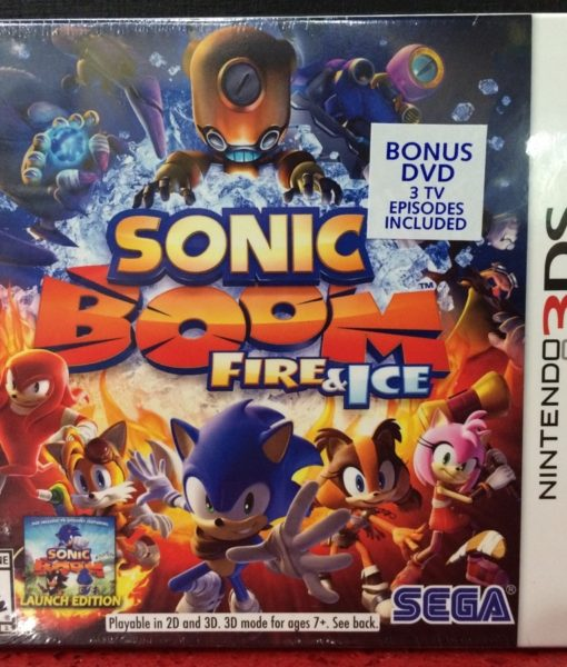 3DS Sonic BOOM Fire and Ice game