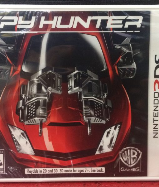 3DS Spy Hunter game