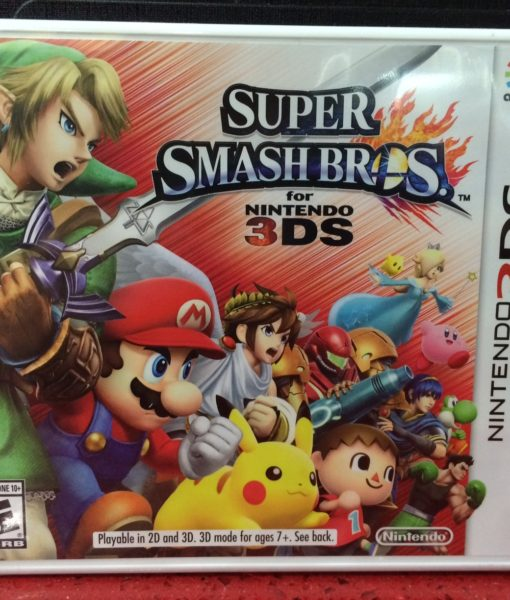 3DS Super Smash Bros. game