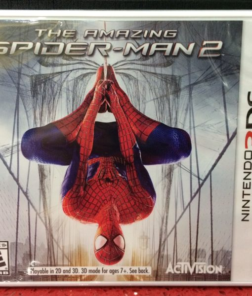 3DS The Amazing SpiderMan 2 game