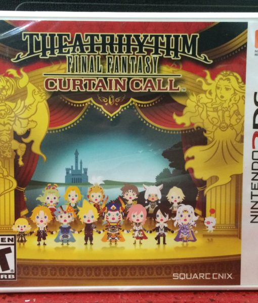 3DS Theatrythm Final Fantasy Curtain game
