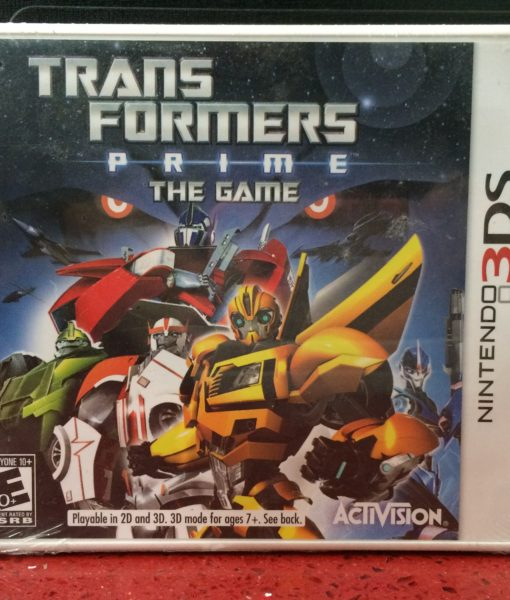 3DS Transformers Prime game