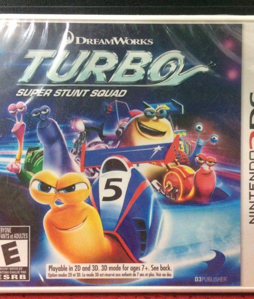 3DS Turbo Stunt Squad game