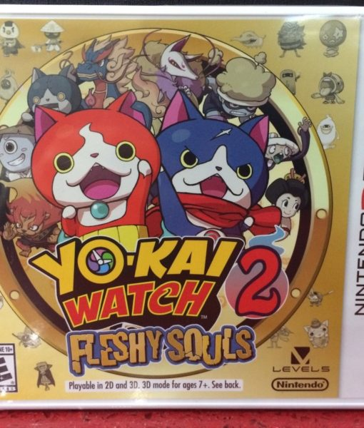 3DS YoKai Watch 2 Fleshy Souls game