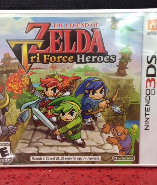 3DS Zelda TriForce Heroes game