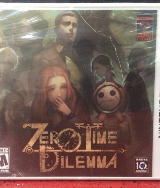 3DS Zero Time Dilemma game