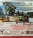 Monster Hunter Generation back cover