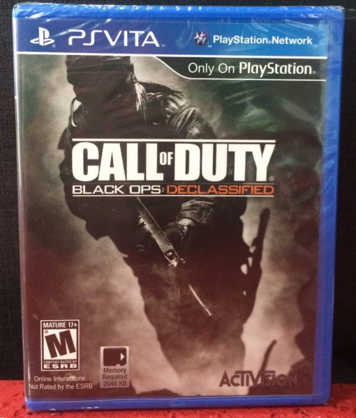 PS Vita Call of Duty Black OPS Declassified game