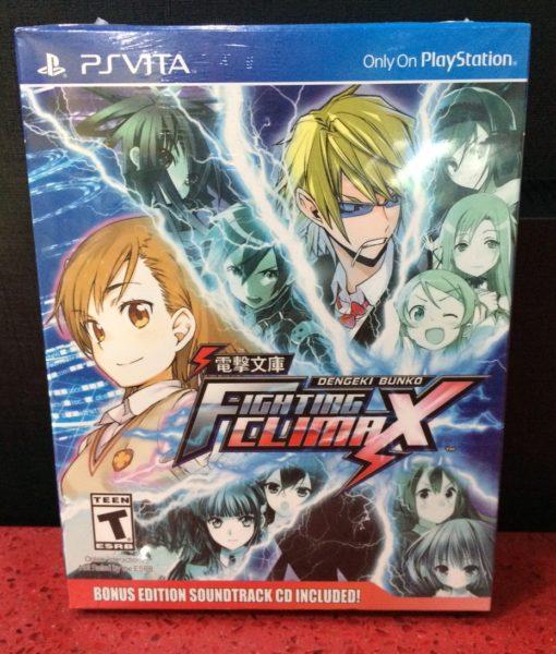 PS Vita Dengeki Bunko Fighting Climax game