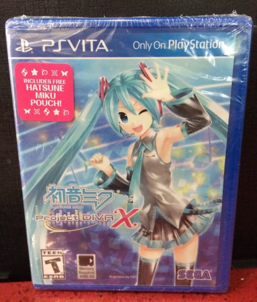 PS Vita Hatsune Miku Project Diva X game