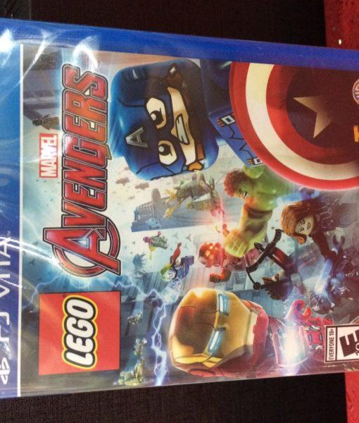 PS Vita LEGO Marvel AVENGERS game