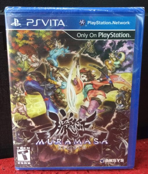 PS Vita Muramasa Rebirth game