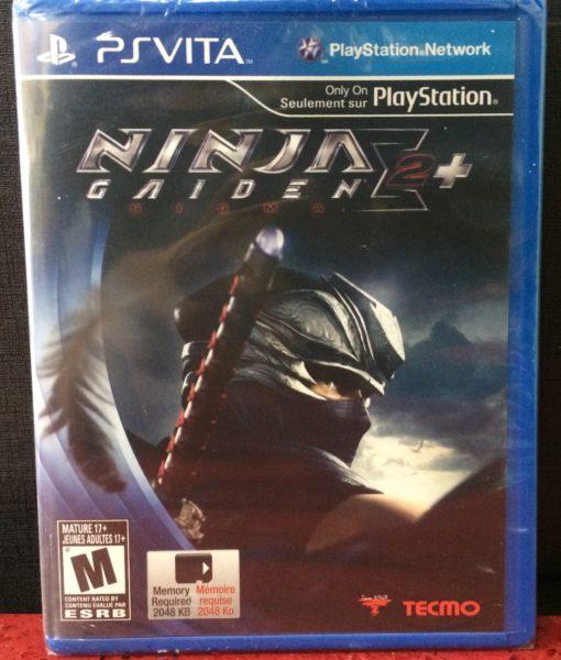 PS Vita Ninja Gaiden Sigma 2 Plus game