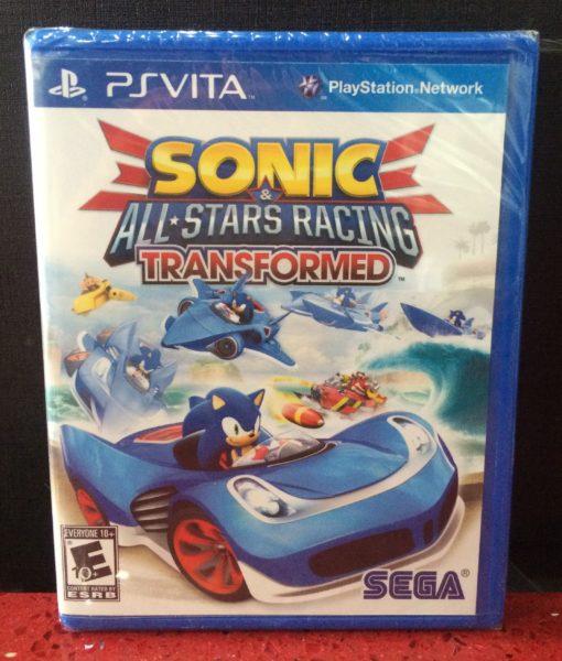 PS Vita Sonic Star Racing Transformed game