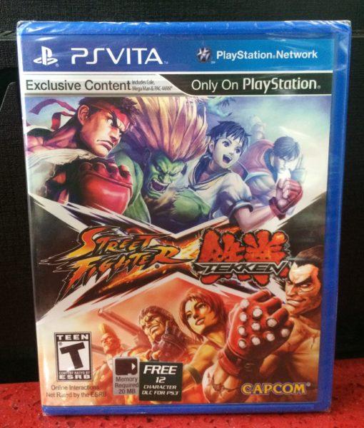 PS Vita Street Fighter x Tekken game