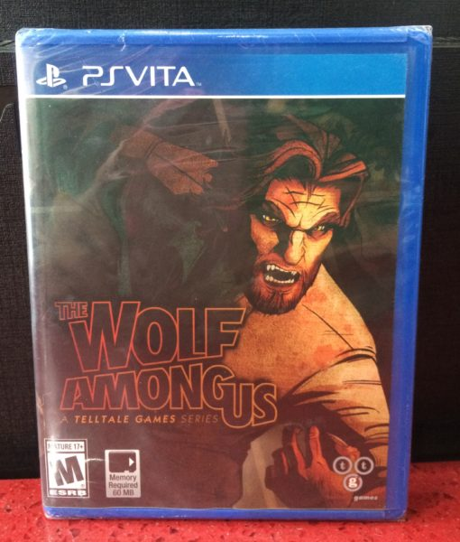 PS Vita The Wolf Amon Us game