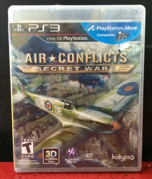 PS3 Air Conflicts Secret Wars game