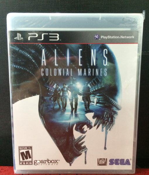 PS3 Aliens Colonial Marines game