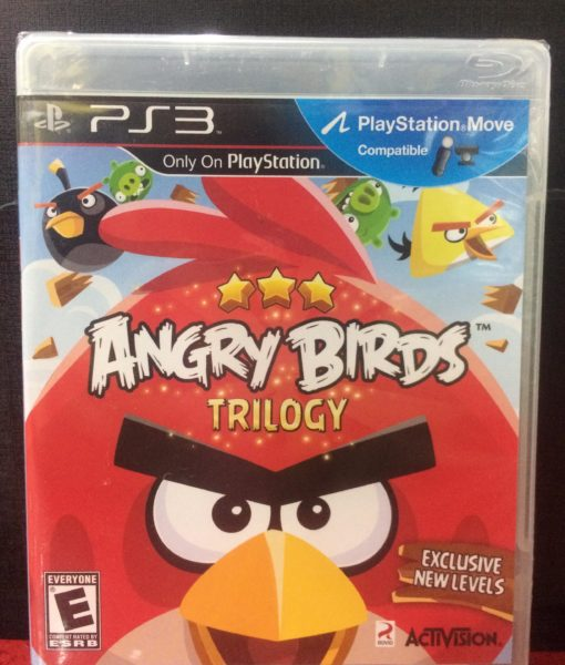 PS3 Angry Birds Trilogy game