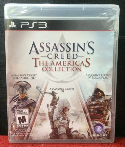 PS3 Assassins Creed American Collection game