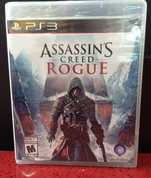 PS3 Assassins Creed ROGUE game