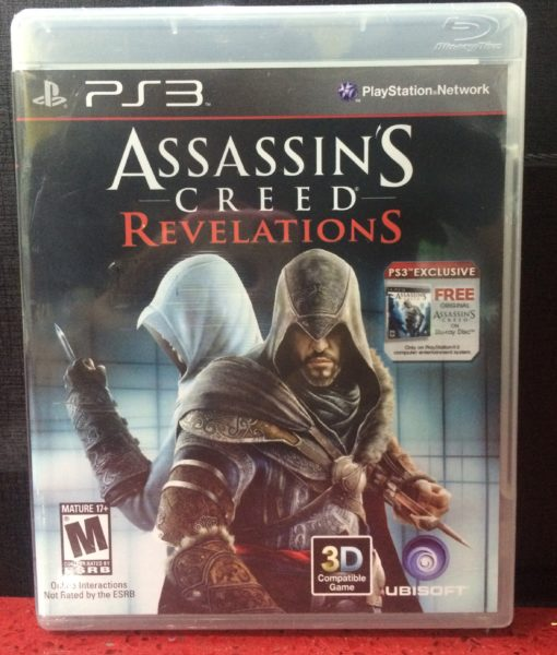 PS3 Assassins Creed Revelation game