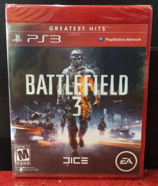 PS3 Battlefied 3 game