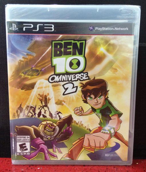 PS3 Ben 10 Omniverse 2 game