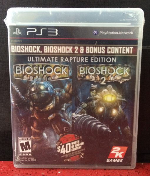 PS3 Bioshock Rapture Edition game