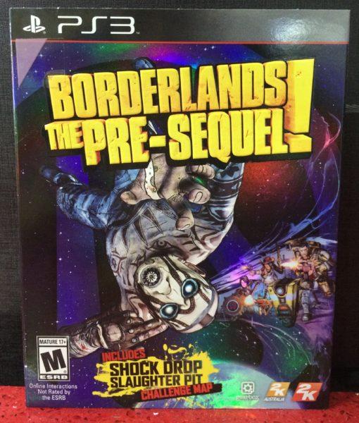 PS3 Borderlands The PreSequel game