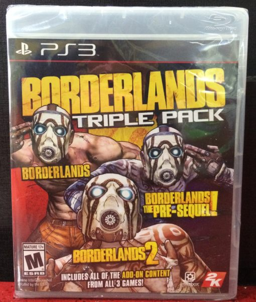 PS3 Borderlands Triple Pack game