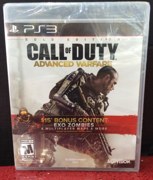 PS3 Call of Duty Advance Warfare game