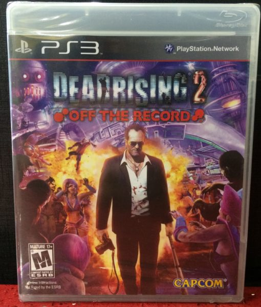 PS3 Dead Rising 2 Off the Record game
