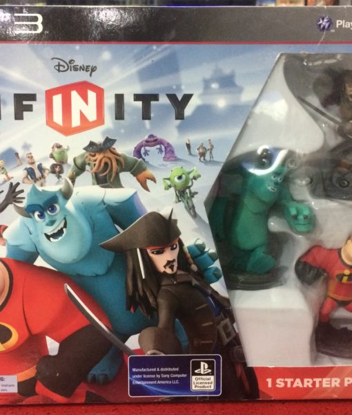 PS3 Disney Infinity 1.0 Starter Pack game
