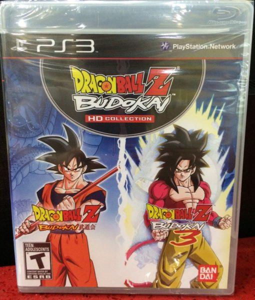 PS3 Dragon Ball Z Budokai HD Collection game