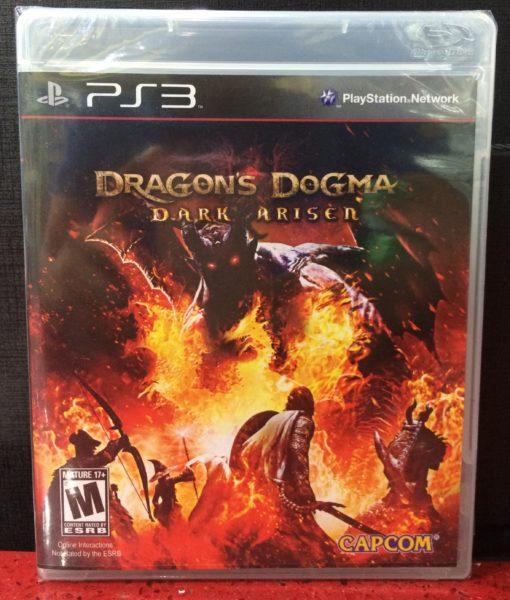 PS3 Dragons Dogma Dark Arisen game