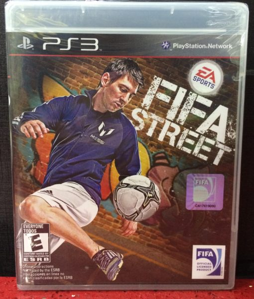 PS3 FIFA Street game