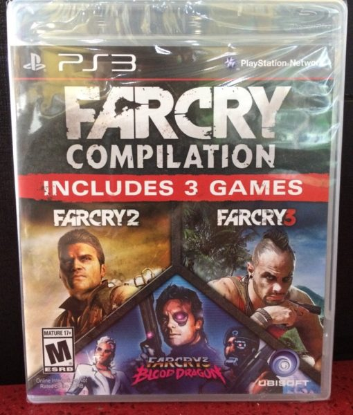 PS3 FarCry 3 Compilation game