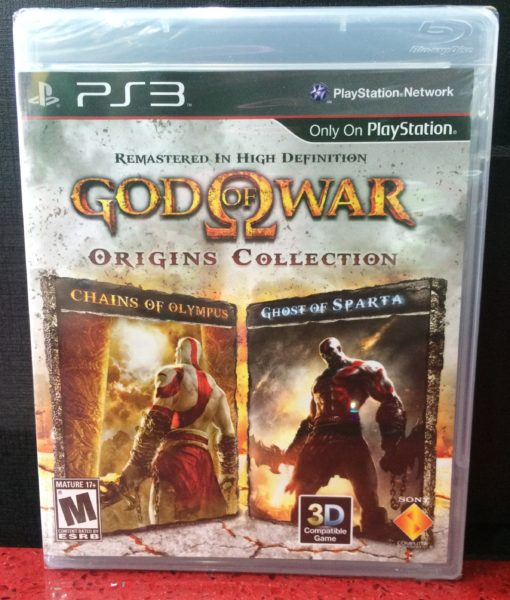 PS3 God of War Origins Collection game