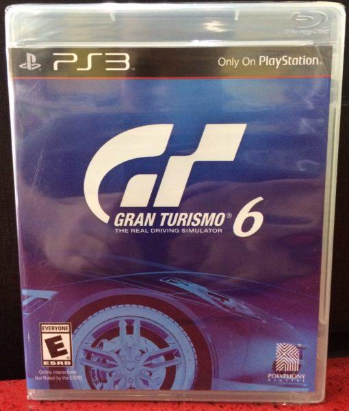PS3 Gran Turismo 6 game