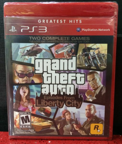PS3 Grand Theft Auto IV Episode Liberty City game