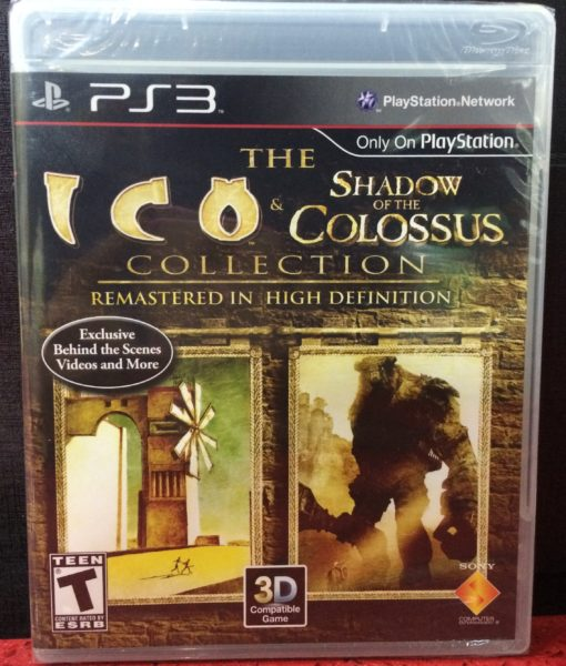 PS3 ICO Shadow of the Colossus game