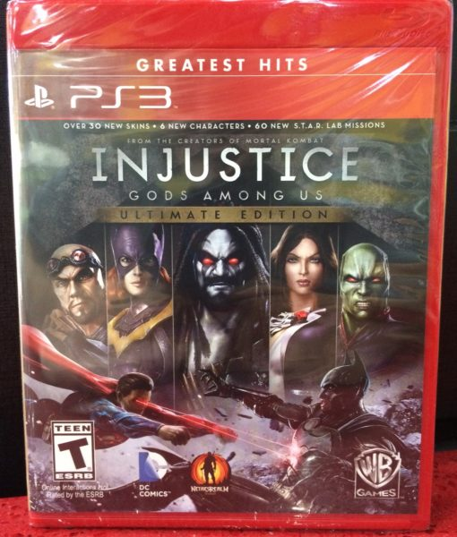 PS3 Injustice Ultimate Edition game